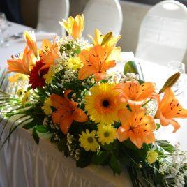 11. Dekoracija venčanja