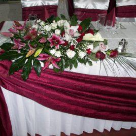 5. Dekoracija venčanja