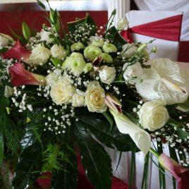 6. Dekoracija venčanja