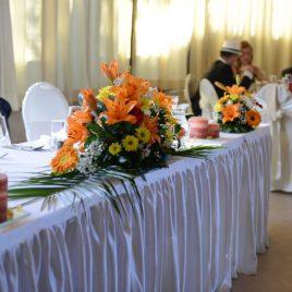 9. Dekoracija venčanja