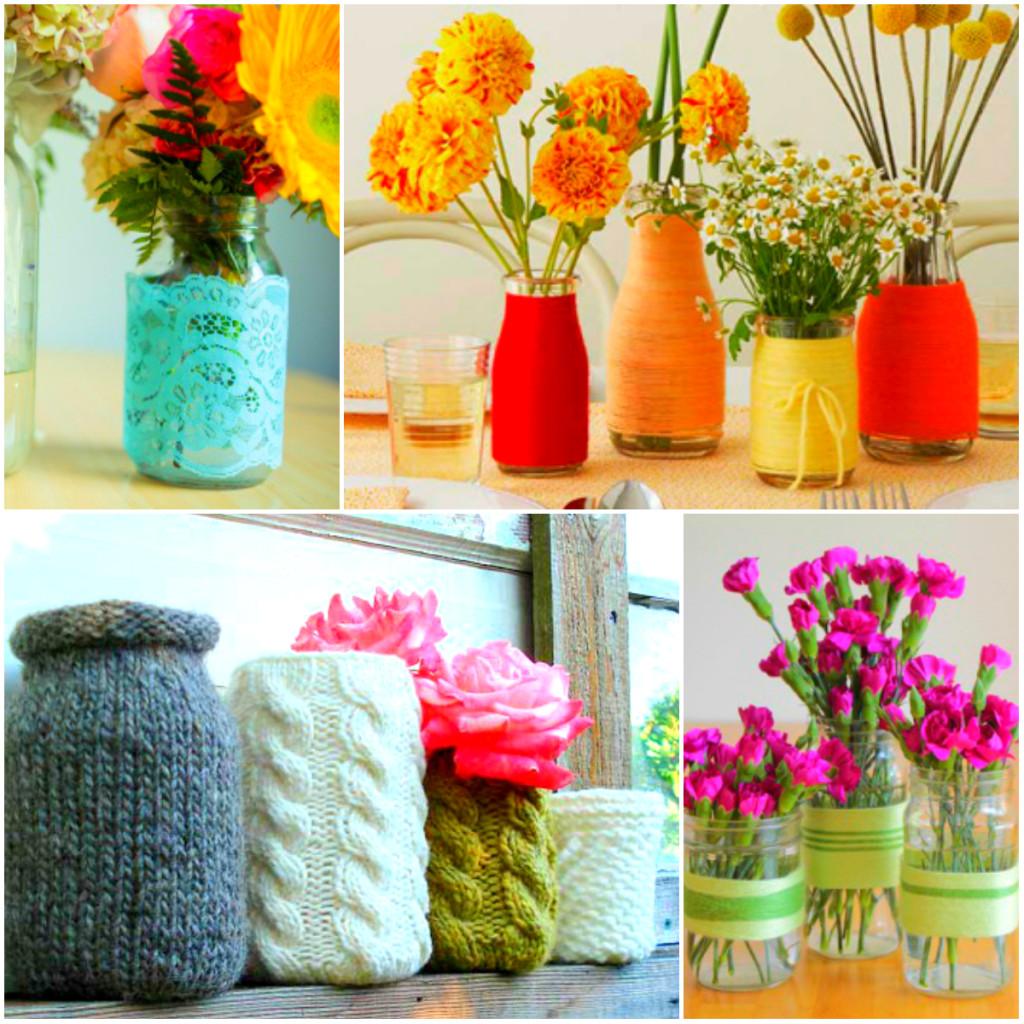 ideje za dekorativne tegle
