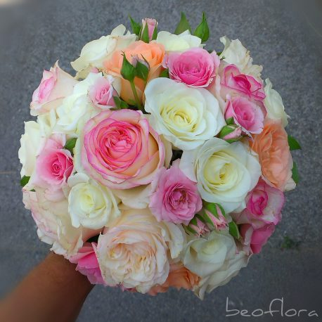 belo-roze bidermajer beoflora