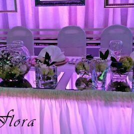 15. Dekoracija venčanja