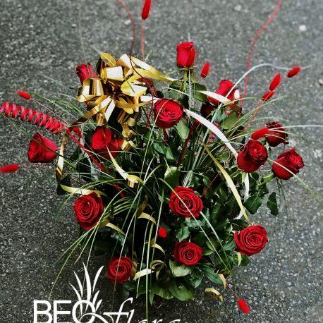 beoflora korpa crvene ruze