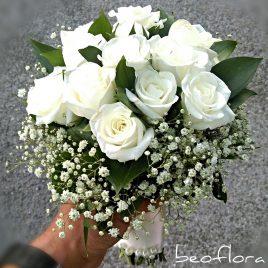 21. Bidermajer Flower White