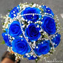 58. Bidermajer Royal Blue Jackie