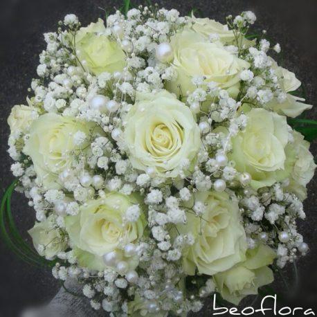 Bidermajer Beoflora white rose