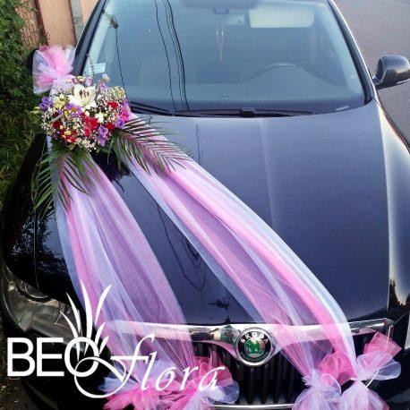 beoflora dekoracija auta